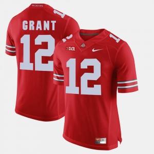 Men's #12 OSU Alumni Football Game Doran Grant college Jersey - Scarlet