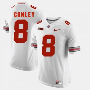 Men's Alumni Football Game #8 Buckeyes Gareon Conley college Jersey - White