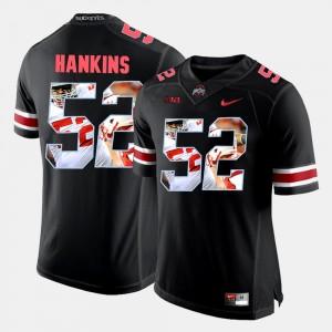 Men #52 OSU Pictorial Fashion Johnathan Hankins college Jersey - Black