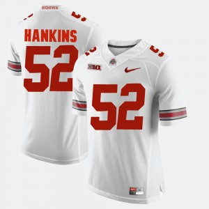 Men's Buckeyes #52 Alumni Football Game Johnathan Hankins college Jersey - White