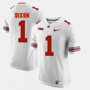 Men's Alumni Football Game OSU #1 Johnnie Dixon college Jersey - White