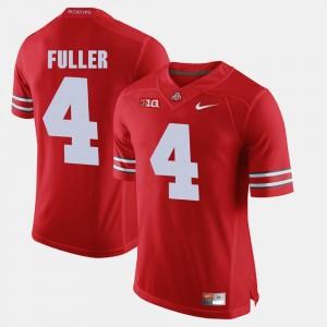 Men #4 Ohio State Buckeyes Alumni Football Game Jordan Fuller college Jersey - Scarlet