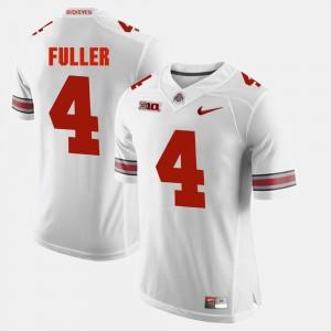 Men's Alumni Football Game #4 Ohio State Jordan Fuller college Jersey - White