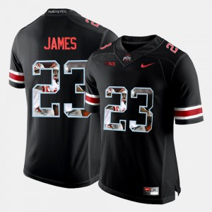 Men's OSU #23 Pictorial Fashion Lebron James college Jersey - Black