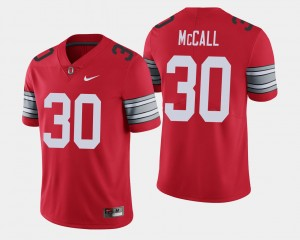 Men 2018 Spring Game Limited Buckeye #30 Demario McCall college Jersey - Scarlet