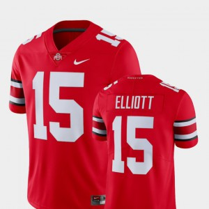 Men Alumni Ohio State Buckeye Limited Football #15 Ezekiel Elliott college Jersey - Scarlet