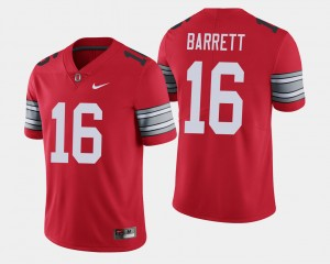 Mens #16 2018 Spring Game Limited Ohio State J.T. Barrett college Jersey - Scarlet