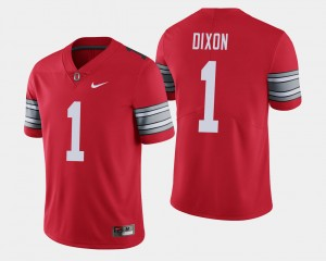 Mens Ohio State #1 2018 Spring Game Limited Johnnie Dixon college Jersey - Scarlet