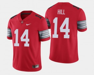 Men's 2018 Spring Game Limited #14 Buckeyes K.J. Hill college Jersey - Scarlet