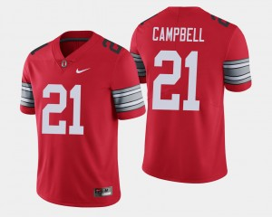 Men's #21 2018 Spring Game Limited Ohio State Parris Campbell college Jersey - Scarlet