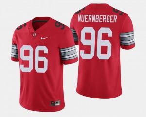 Men #96 2018 Spring Game Limited Buckeyes Sean Nuernberger college Jersey - Scarlet