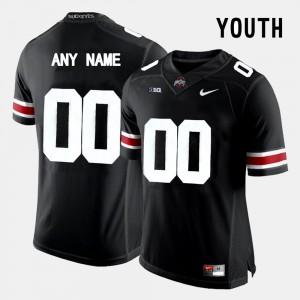 Kids #00 Ohio State Limited Football college Custom Jerseys - Black