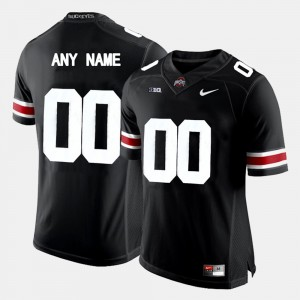 Men's OSU Limited Football #00 college Customized Jerseys - Black