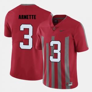 Men #3 Ohio State Buckeye Football Damon Arnette college Jersey - Red