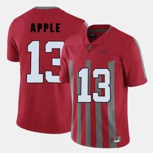 Men Ohio State #13 Football Eli Apple college Jersey - Red