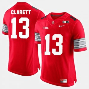 Men OSU Buckeyes Football #13 Maurice Clarett college Jersey - Red