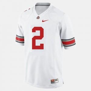 Mens Buckeyes Football #2 Terrelle Pryor college Jersey - White