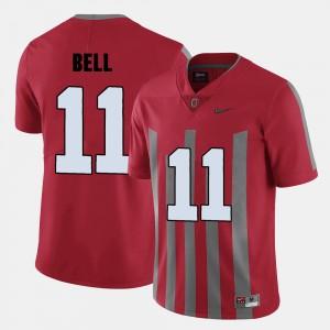 Men Football OSU Buckeyes #11 Vonn Bell college Jersey - Red