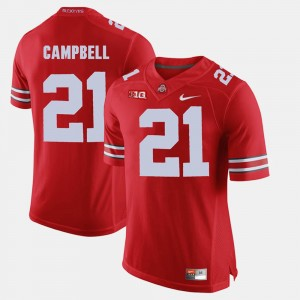 Men Ohio State Buckeyes Alumni Football Game #21 Parris Campbell college Jersey - Scarlet