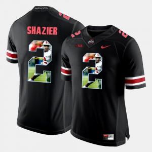 Men's Pictorial Fashion Ohio State Buckeyes #2 Ryan Shazier college Jersey - Black