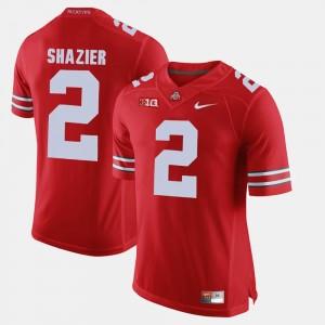 Mens #2 Buckeyes Alumni Football Game Ryan Shazier college Jersey - Scarlet