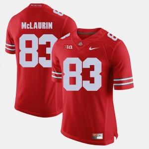 Men's #83 Alumni Football Game OSU Buckeyes Terry McLaurin college Jersey - Scarlet