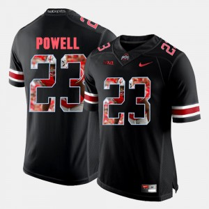 Men's Pictorial Fashion OSU #23 Tyvis Powell college Jersey - Black