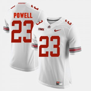 Mens Alumni Football Game #23 Ohio State Tyvis Powell college Jersey - White