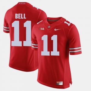 Men Alumni Football Game #11 Ohio State Buckeyes Vonn Bell college Jersey - Scarlet
