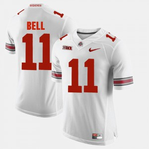 Mens Ohio State Buckeye Alumni Football Game #11 Vonn Bell college Jersey - White